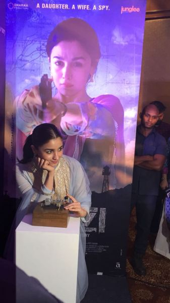 Raazi's Ae Watan song launch with Alia Bhatt, Meghna Gulzar and Vicky Kaushal (5)