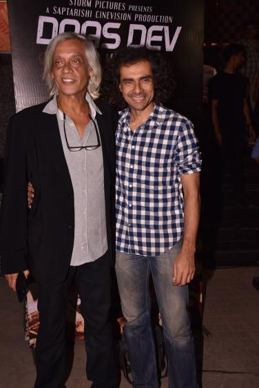 Sudhir Mishra with Imtiaz Ali