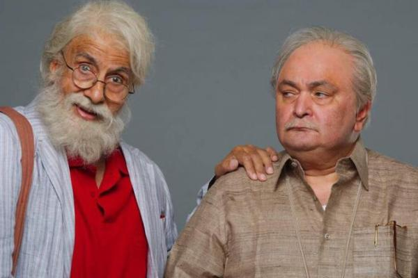 Amitabh Bachchan and Rishi Kapoor 102 Not Out