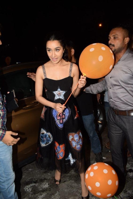 Shraddha Kapoor at Stree wrap up party (1)