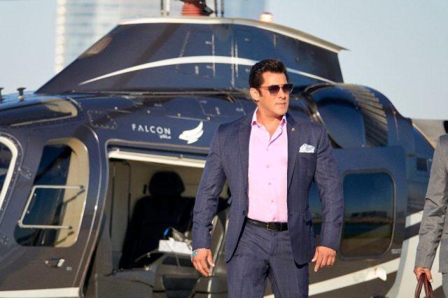 Salman Khan in a scene from Race 3