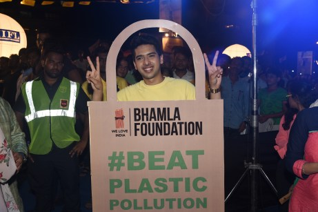 Armaan Malik at Bhamla Foundation's World Environment Day celebrations at Carter Road