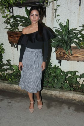 Hina Khan at Incredibles 2 screening