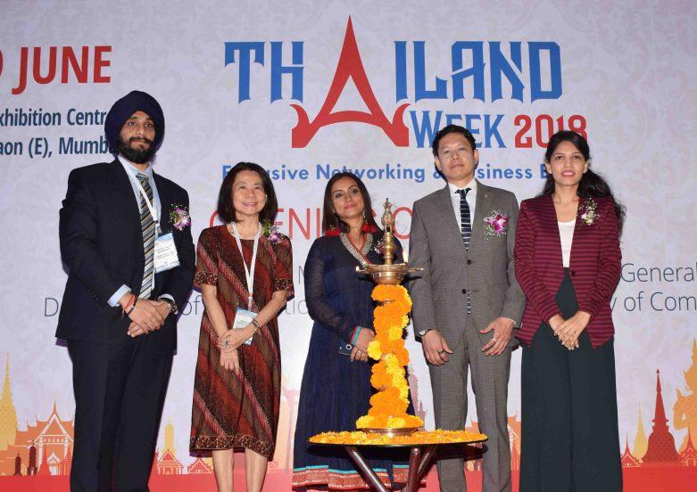 Mr. Ajit Singh, President Bombay Industries Association, Consul General, Royal Thai Consulate, Mumbai - Mr. Ekapol Poolipat & Executive Director & Consul ( Coomercial ) Royal Thai Consulate, Mumbai - Ms. Suvimol Tilok