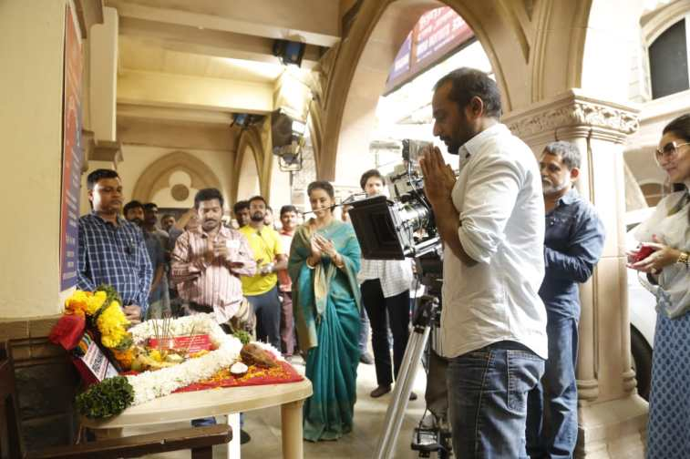 Prasthaanam Day 1 shoot (1)