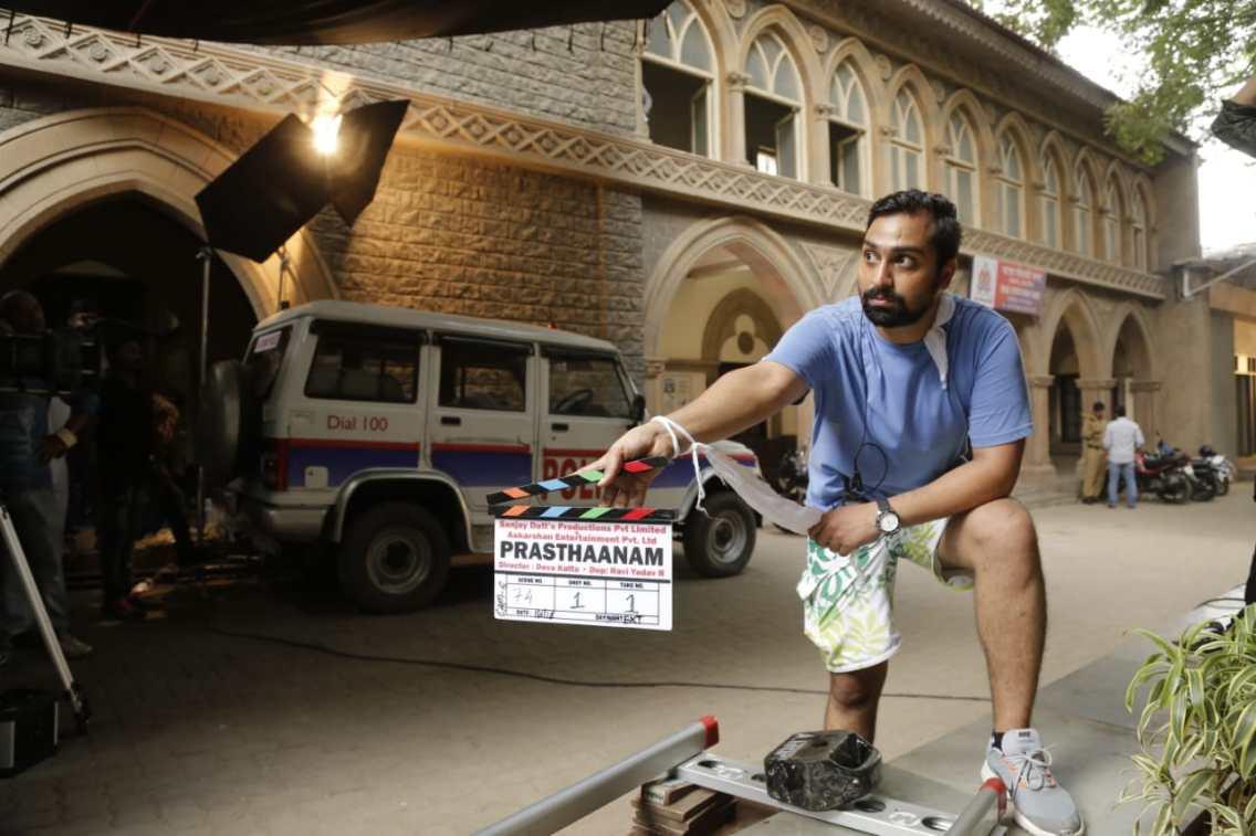 Prasthaanam Day 1 shoot (4)