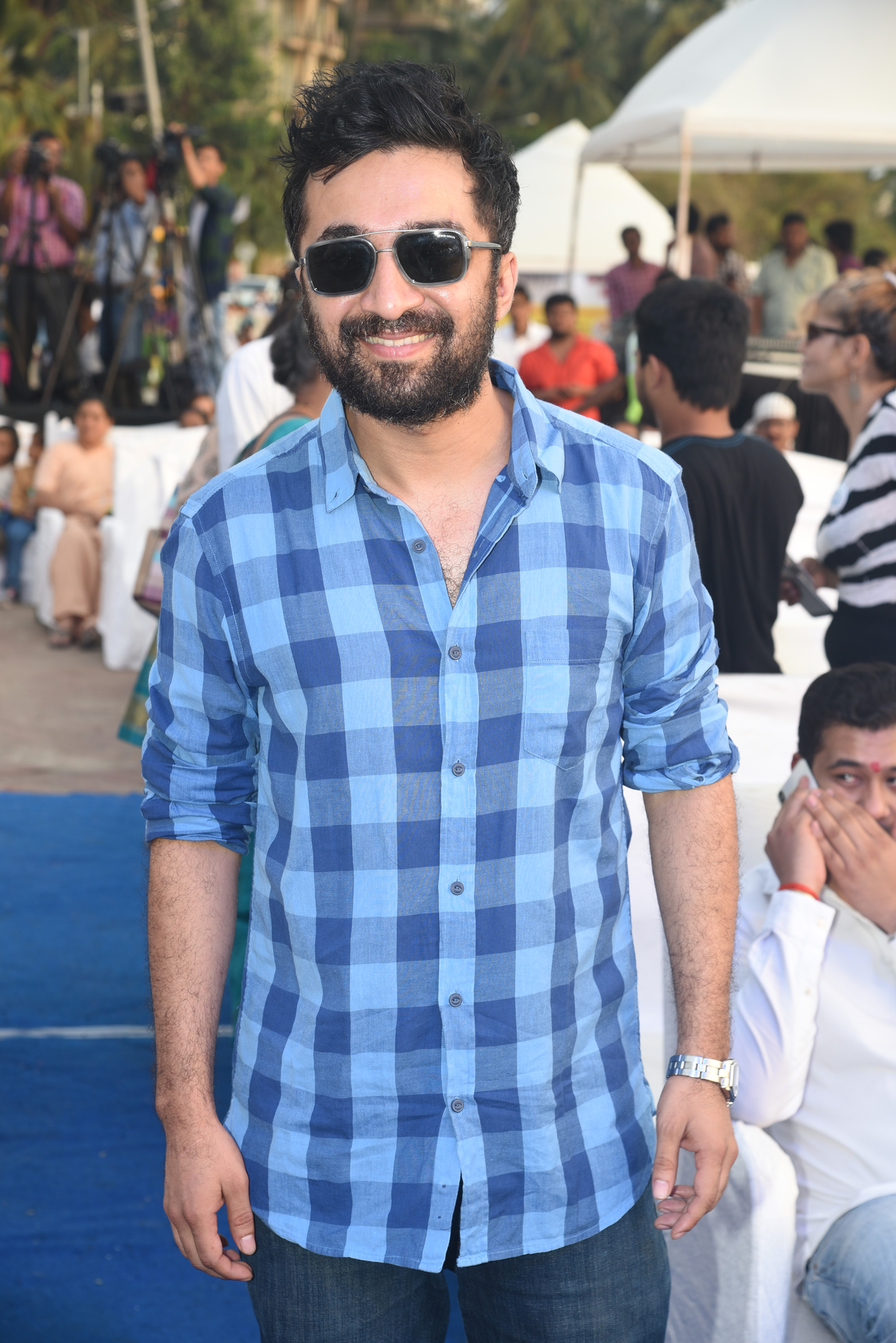 Siddhanth Kapoor at Bhamla Foundation's World Environment Day celebrations at Carter Road