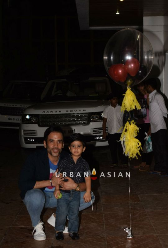 Tusshar and son