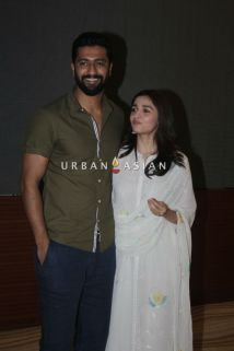 Vicky Kaushal and Alia Bhatt