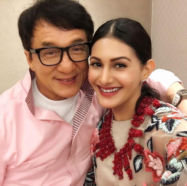 Amyra Dastur-Jackie Chan