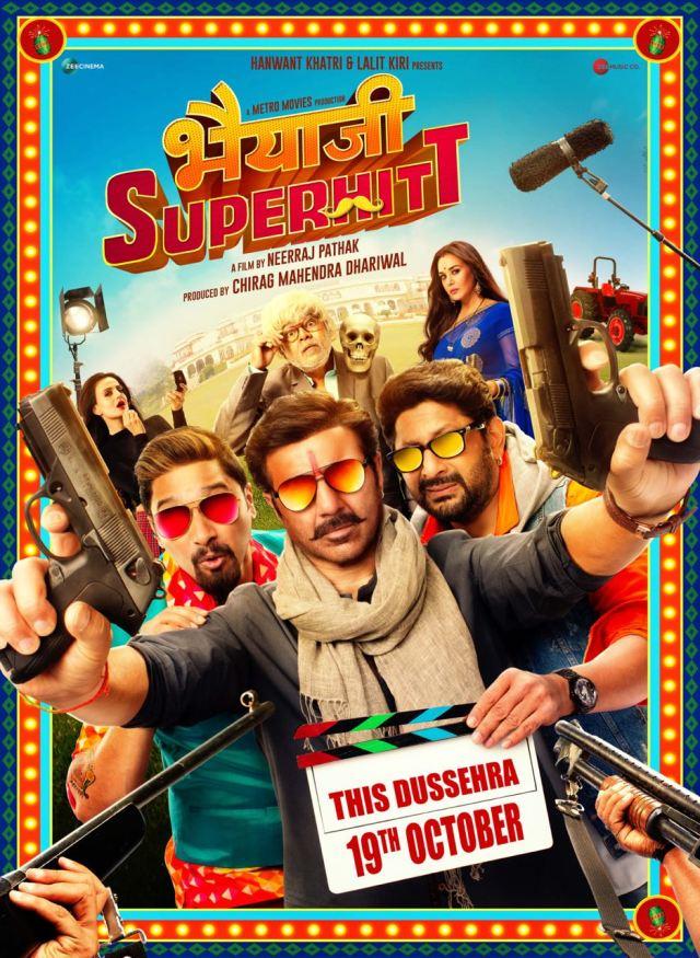 Bhaiaji Superhit Poster