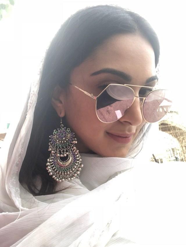 Kiara Advani Spent Her Day In #Hyderabad