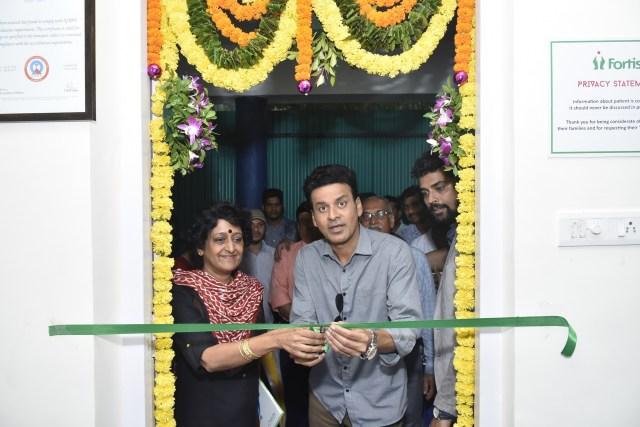 Manoj Bajpayee inaugurated Fortis' Apna Clinic