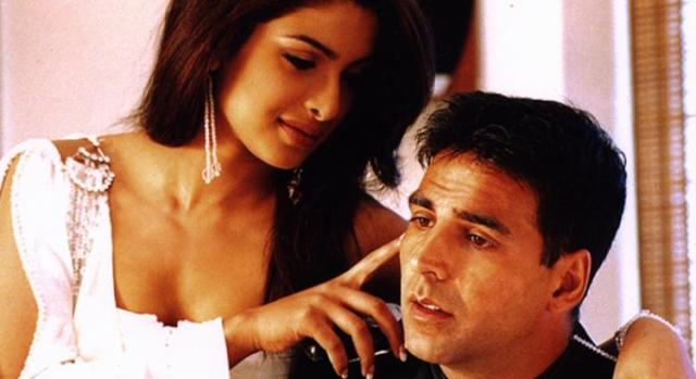 Priyanka Chopra and Akshay Kumar in Aitraaz