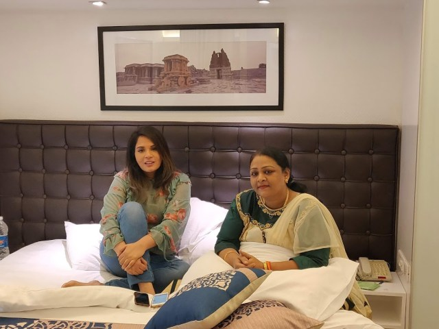 Richa Chadha and Shakeela Khan