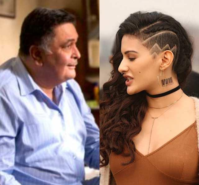 Rishi Kapoor and Amyra Dastur in Rjma Chawal