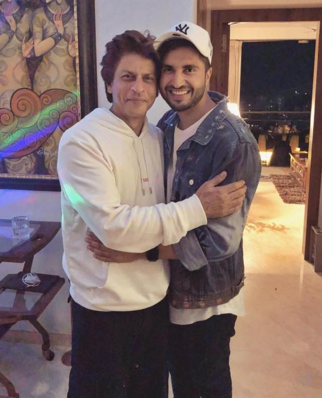 Shah Rukh Khan and Jassie Gill