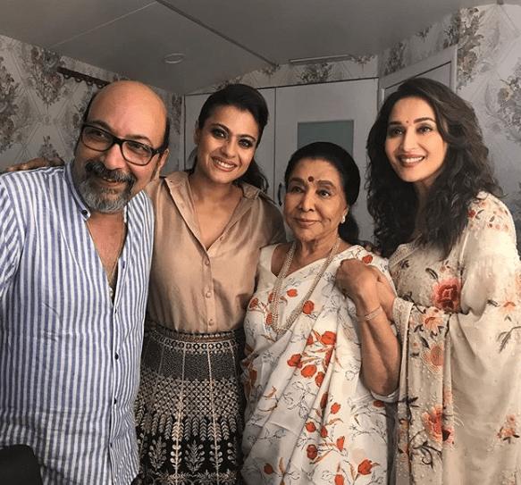 Kajol, Madhuri Dixit, Asha Bhosle