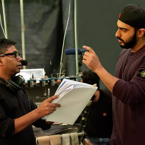 Rajkumar Gupta and Arjun Kapoor