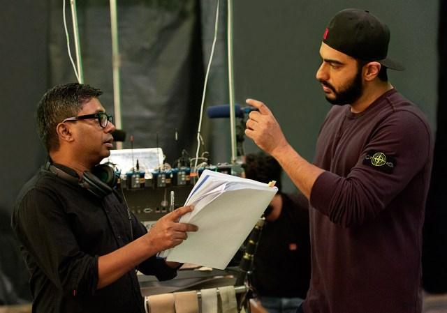 Rajkumar Gupta and Arjun Kapoor