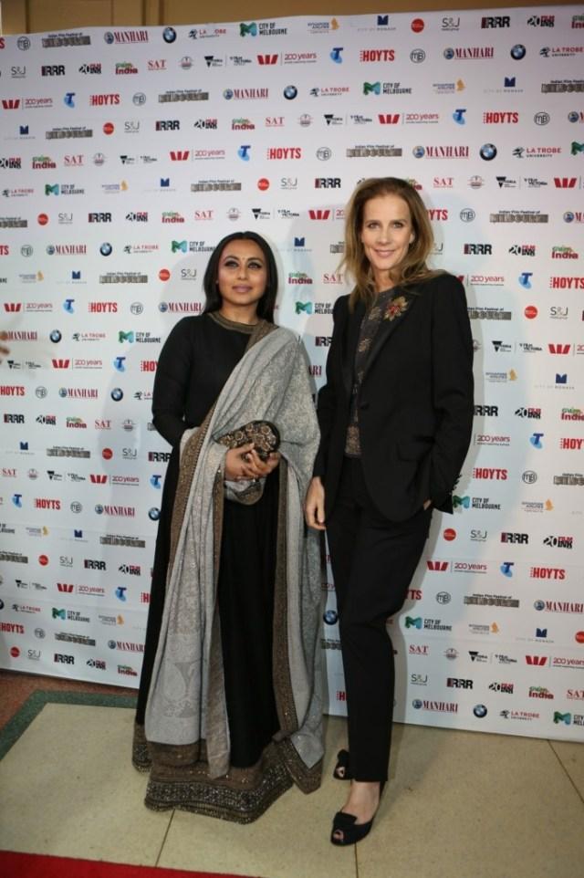 Rani Mukerji and Rachel Griffiths