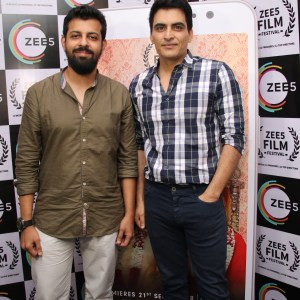 Bejoy Nambiar and Manav Kaul at the special screening of Dobaara_ZEE5 Film Festival