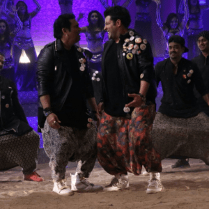 Govinda and Varun Sharma in Chotey Bade
