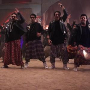 Mika, Govinda, Ankit and Varun