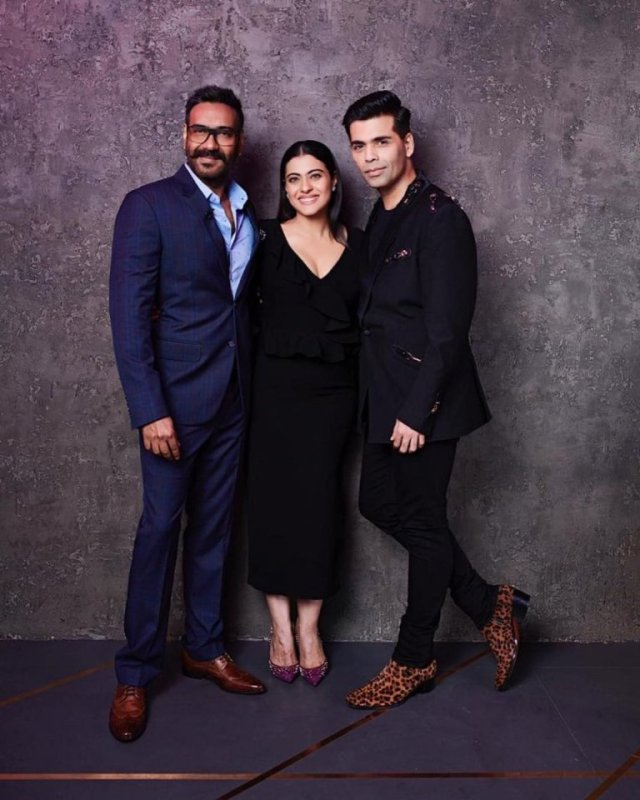 Kajol and Ajay Devgn on Koffee With Karan
