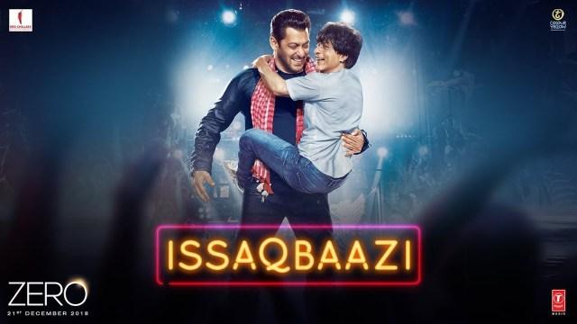 Salman Khan and Shah Rukh Khan in Issaqbaazi from Zero