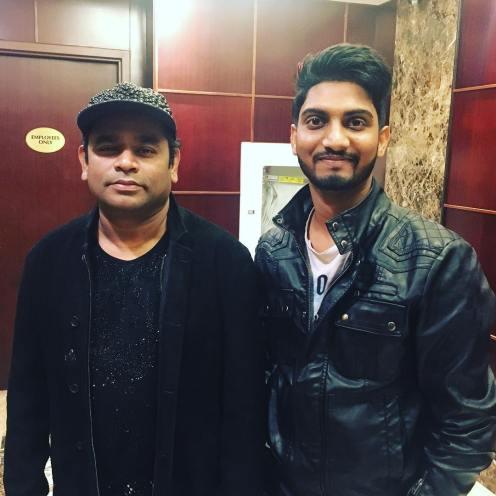 Rahul Sathu and AR Rahman