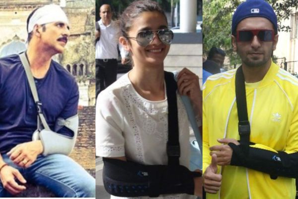 Bollywood actors injured on sets