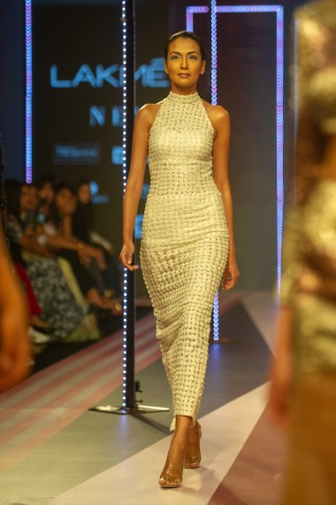 Sunaina Khera made her debut at the GenNext show of Lakme Fashion Week'19