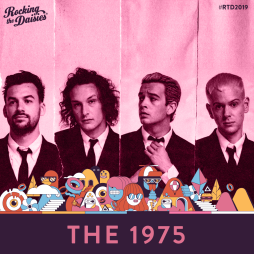 South Africa : BRITISH POP BAND, THE 1975 ARE HEADLINING AT ROCKING THE DAISIES 2019!