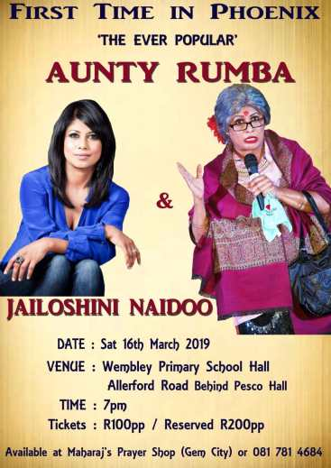 Aunty Rumba's First Time in Phoenix. South Africa, Durban