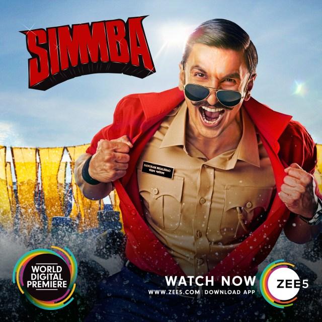 Simmba on ZEE5
