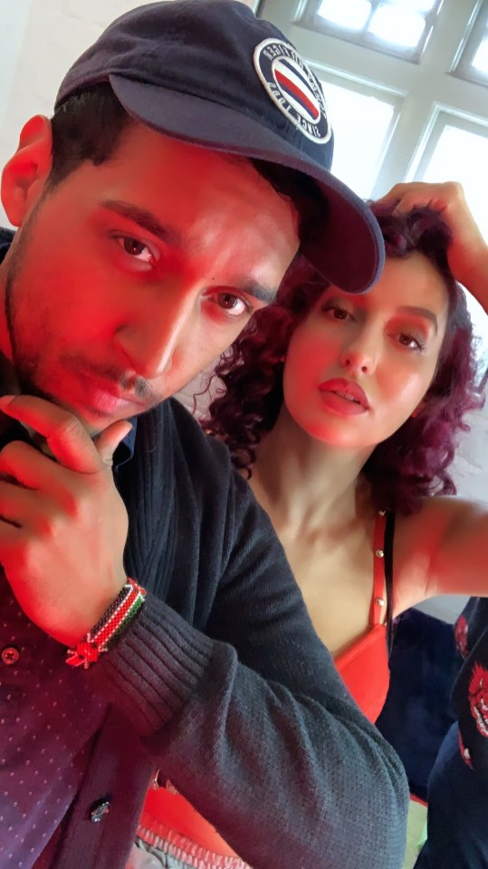 Nora Fatehi and Steven Roy Thomas