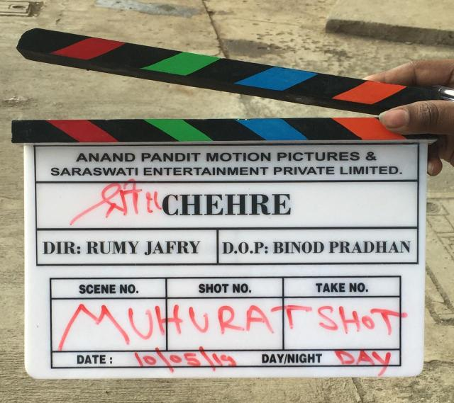 Anand Pandit's mystery thriller starring Amitabh Bachchan and Emraan Hashmi is titled 'Chehre'