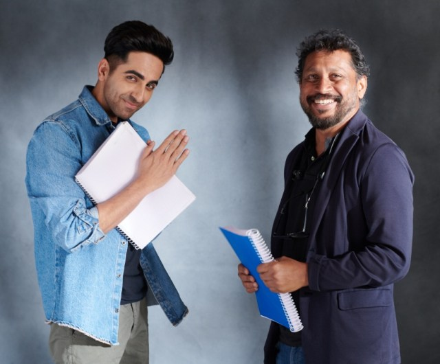 Ayushman Khurana and Shoojit Sircar