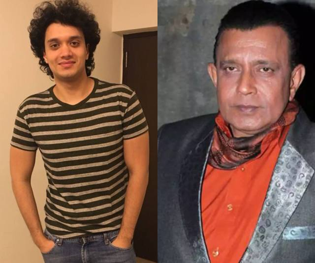 Mithun Chakraborty and Namashi Chakraborty