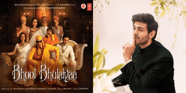 Kartik Aaryan in Bhool Bhulaiyaa sequel