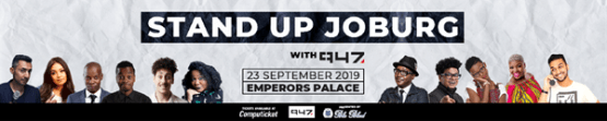 BluBlood and 947 Presents Stand-Up Joburg