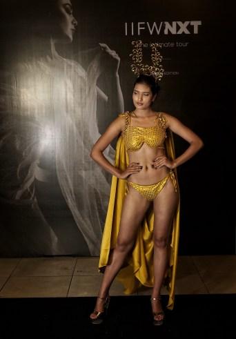 Models walk the ramp for Designer Sharad Raghav at IIFW NXT-The Intimate Tour-Mumbai Edition (8)