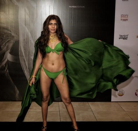 Models walk the ramp for Designer Sharad Raghav at IIFW NXT-The Intimate Tour-Mumbai Edition (9)