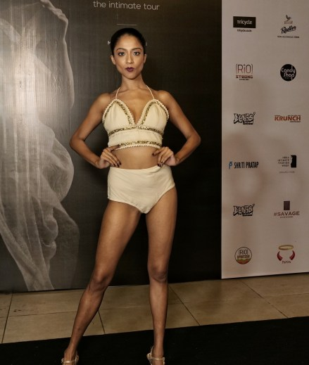 Models walk the ramp for designer Shriti Pratap at IIFW NXT-The Intimate Tour_Mumbai Edition (11)