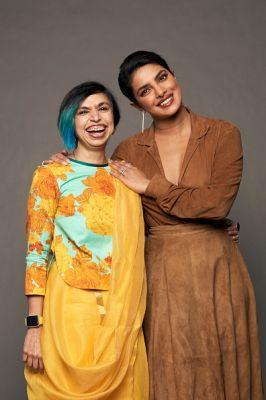 Shonali Bose and Priyanka Chopra Jonas