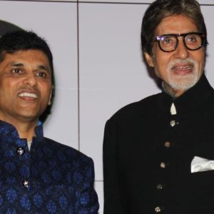 Anand Pandit and Amitabh Bachchan