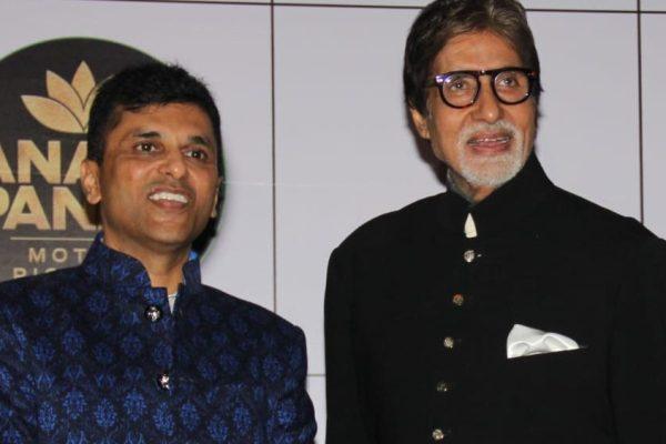 Anand Pandit and Amitabh Bachchan