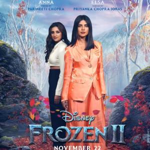 Frozen 2 Priyanka Chopra Jonas And Parineeti Chopra Turn Reel Sisters Now