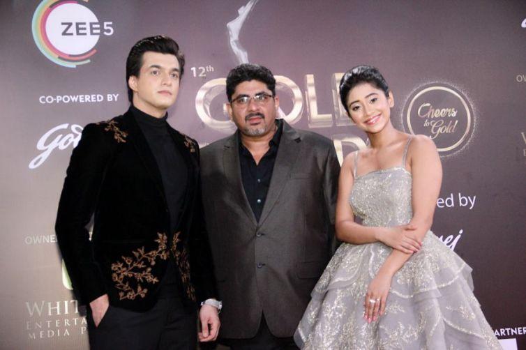 Mosin Khan,Shivangi Joshi,Rajan Shahi